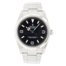 Rolex Explorer I Stainless Steel Wristwatch
