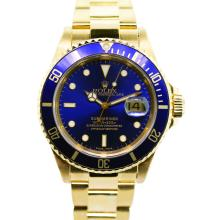Rolex Submariner 18K Gold Wristwatch