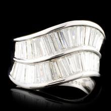 Platinum 2.00ctw Diamond Ring