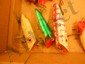 Box Lot Vintage Plugs, Fishing Lures