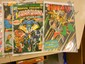 6 Vintage Comic books .12-.35 cent covers