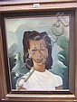 Mariette Lydis (1890-1970), Portrait of a Belgian, Mariette Lydis, Click for value