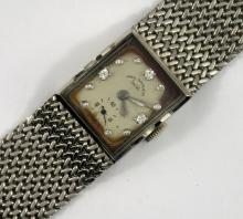 Paul Ditisheim Platinum Wristwatch