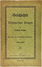 GESCHICHTE DES DITHMARSCHER KRIEGES