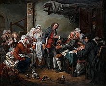 JEAN BAPTISTE GREUZE (1725-1805) 1/2 XX after   after  The village