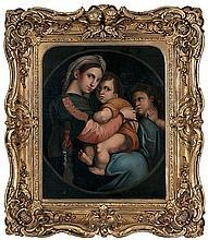RAPHAEL DI SANZIO (1483-1520) follower   follower  'Madonna della s