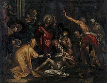 ABRAHAM BLOEMAERT (1564-1651) XVII after   after  The raising of La