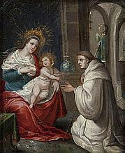 ANONYMOUS XVII Southern Netherlands   Lactatio Bernardi (Bernardus of C