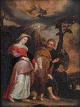 ANONYMOUS XVII after  P.P. Rubens Flandres   ANONYMOUS XVII Flanders (a