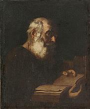 ANONYMOUS XVII Naples   ANONYMOUS XVII Napoly  Portrait of a schola