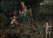 ANONYMOUS XVII / XVIII   ANONYMOUS XVII / XVIII  Madonna and John t