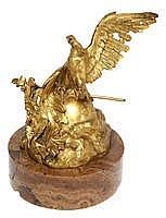 JEAN-LEON GEROME (1824 - 1904) L'aigle expirant