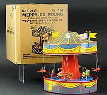 MERRY-GO-ROUND WITH BOX