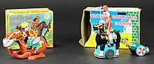 LOT OF TWO JAPANESE WIND-UP TOYS