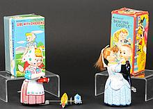 TWO JAPANESE WIND-UP TOYS