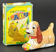LADY AND THE TRAMP TOY