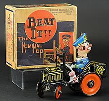 'BEAT IT' KOMIKAL KOP CAR WITH BOX