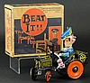 'BEAT IT' KOMIKAL KOP CAR WITH BOX