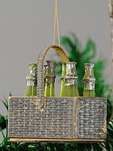 CHAMPAGNE BASKET CANDY CONTAINER