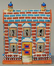BEADED CHRISTMAS HOUSE