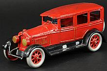 LARGE 'SEARS' CAST IRON TOY SEDAN