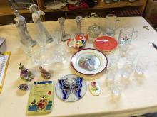 A selection of ceramics including Nao.