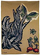 Jean LURÇAT 1892-1966   SPHYNX VERT