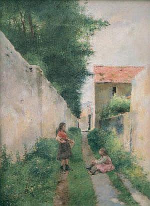 Luis JIMENEZ ARANDA 1845-1928 LES ENFANTS PRéS DU