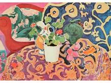Henri MATISSE 1869-1954  Nature morte au pot de fleurs  Estampe   14,5 x 20,5