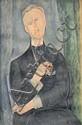 Amedeo MODIGLIANI 1884-1920 HOMME À LA PIPE