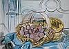Raoul DUFY 1877-1953   Le panier aux aeufs   Estampe    14 x 19