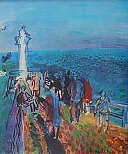 Raoul DUFY 1877-1953   Le Port   Estampe signée en bas à droite   24 x 20