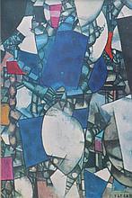 Fernand LÉGER 1881-1955    Composition   Estampe signée en bas à droite   16 x 10,5