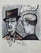 Bernard BUFFET 1928-1999 Personnages estampe - 20
