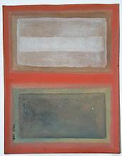 Mark ROTHKO (1903-1970). Latvia - United States