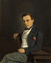 Portrait d'homme au cigare