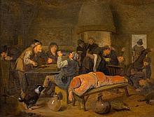 Bauern in einer Wirtsstube