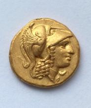 A gold stater of Alexander the Great