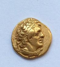 A gold hemidrachm of Ptolemy I