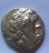 A silver tetradrachm of Ptolemy II