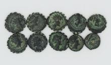 The Seleucids and the Gods; a ten coin set