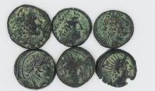 The Seleucids and the Gods; a six coin set
