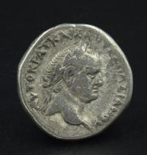 A Roman provincial tetradrachm of Vespasian