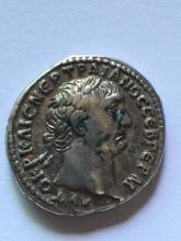 A Roman didrachm of Trajan