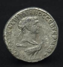 A Roman provincial tetradrachm of Trajan