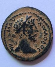 A Roman bronze coin of Commodus