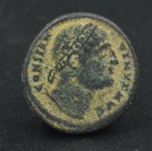 A bronze follis of Constantine I