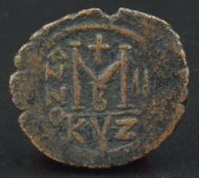 A Byzantine follis of Heraclius