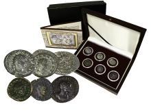 The Gallic Empire:  A six silver coin boxed collection