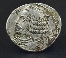A Parthian drachm of Orodes II